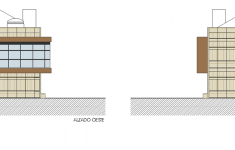 Alzados Este y Oeste - East & West Elevations